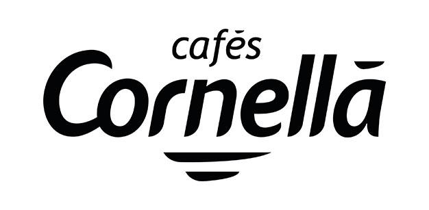 logo Cafes Cornellà negre